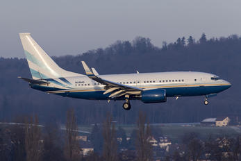 N108MS - Private Boeing 737-700 BBJ