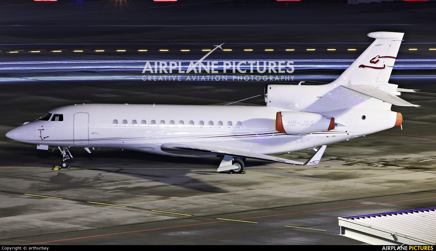 Private HB-JSS aircraft at Zurich