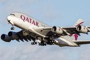 A7-APD - Qatar Airways Airbus A380 aircraft