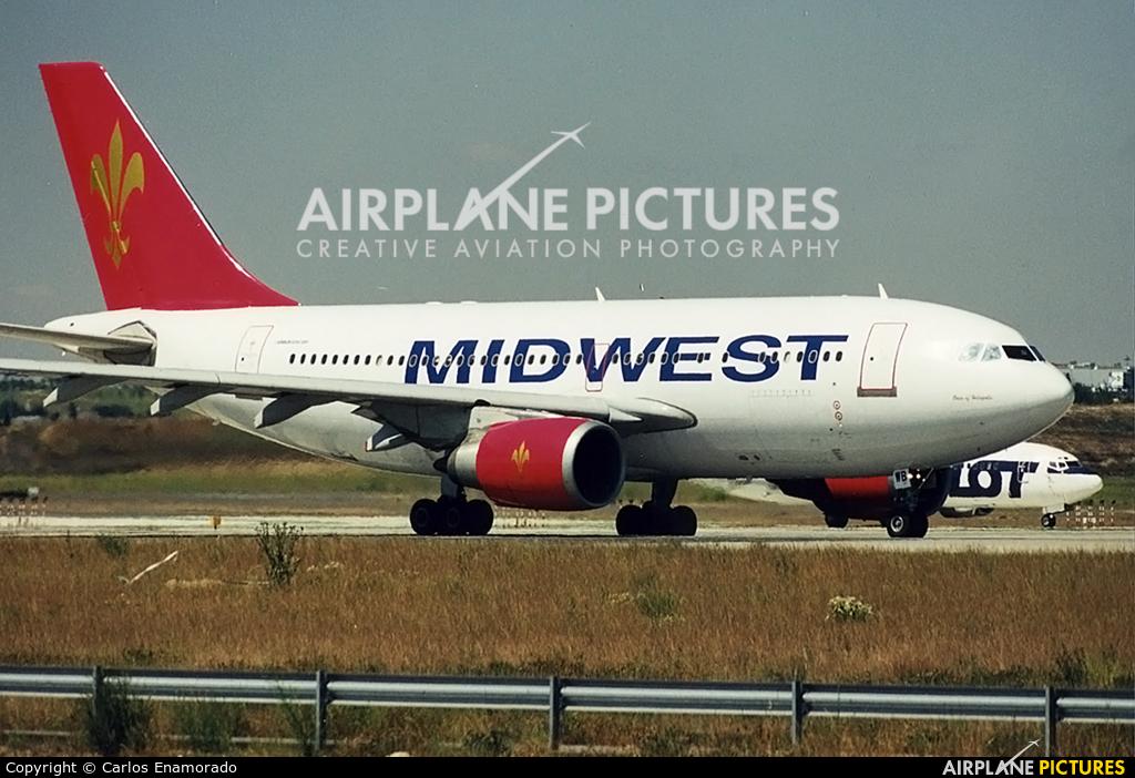 Air Midwest SU-MWB aircraft at Madrid - Barajas