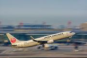 JA301J - JAL - Japan Airlines Boeing 737-800 aircraft