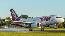 PR-MYB - TAM Airbus A319 aircraft