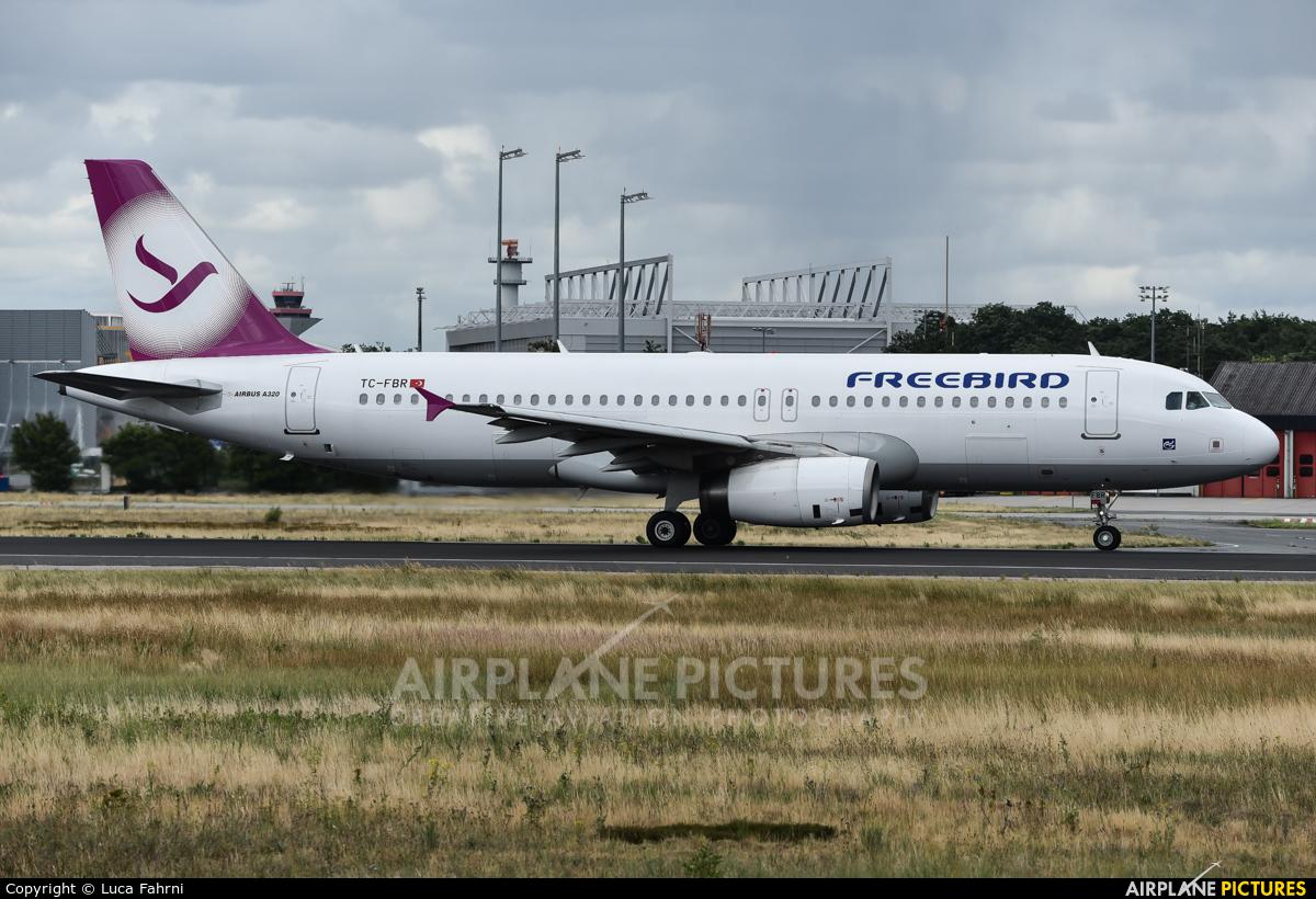 FreeBird Airlines TC-FBR aircraft at Frankfurt