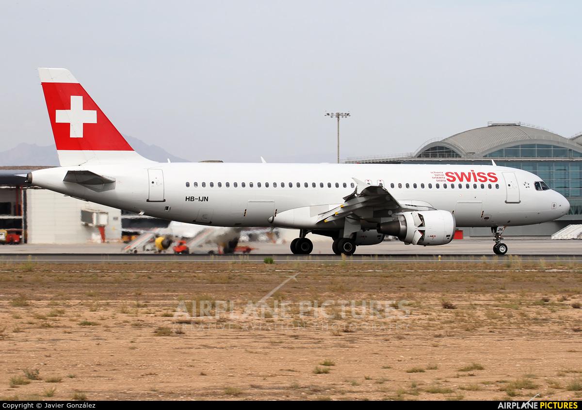 Swiss HB-IJN aircraft at Alicante - El Altet