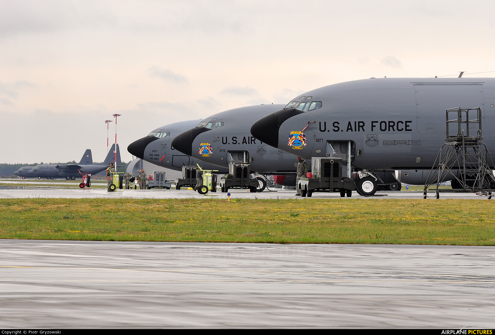 USA - Air Force 63-8871 aircraft at Powidz
