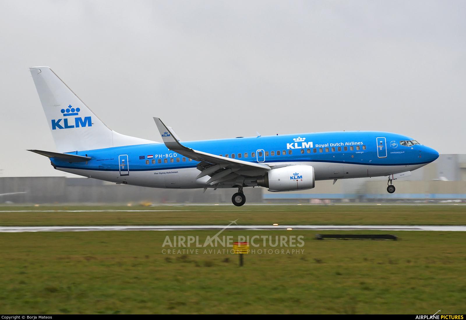 KLM PH-BGD aircraft at Amsterdam - Schiphol