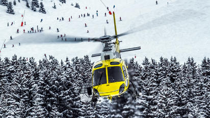 F-GTBE - Mont Blanc Helicopteres Aerospatiale AS350 Ecureuil / Squirrel