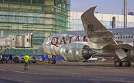 A7-BCB - Qatar Airways Boeing 787-8 Dreamliner aircraft