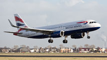G-EUYR - British Airways Airbus A320 aircraft