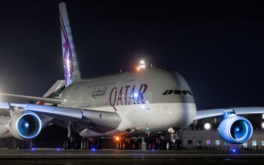 A7-APF - Qatar Airways Airbus A380