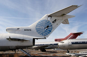 N385PA - Pan Am Boeing 727-200