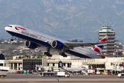 G-STBL - British Airways Boeing 777-300ER aircraft