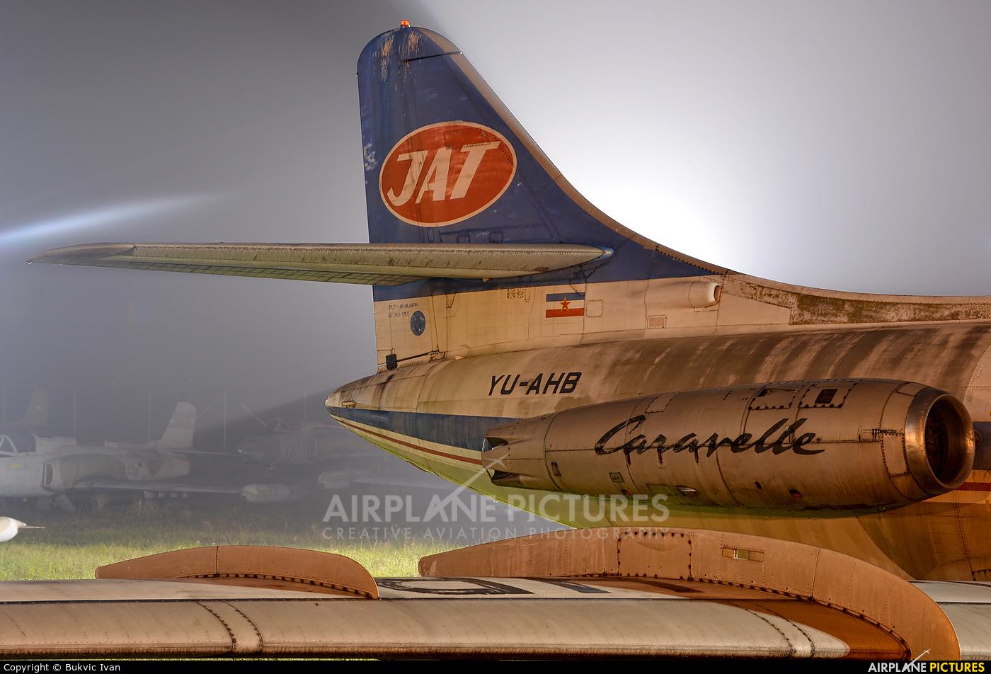 JAT - Yugoslav Airlines YU-AHB aircraft at Belgrade - Nikola Tesla Intl