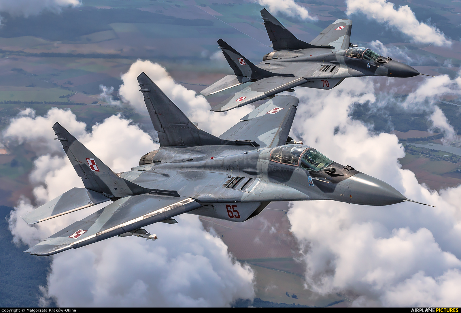 Poland - Air Force 65 aircraft at In Flight - Lithuania