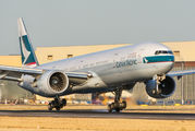 B-KQK - Cathay Pacific Boeing 777-300ER aircraft