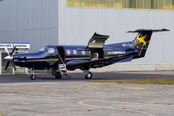 HB-FVD - Air Corviglia Pilatus PC-12