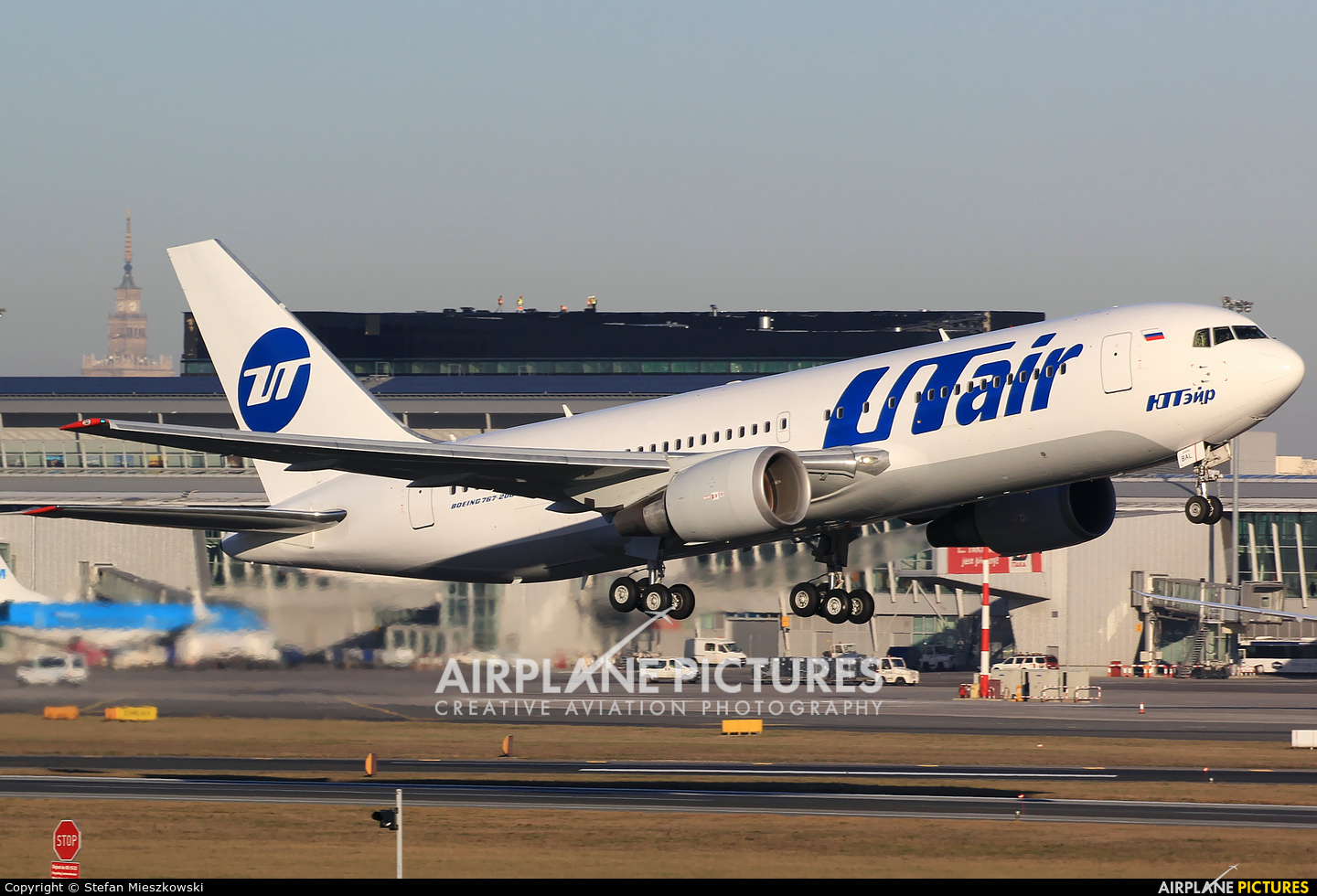 UTair VP-BAL aircraft at Warsaw - Frederic Chopin