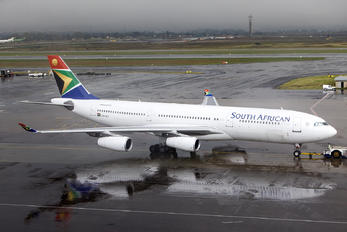 ZS-SLD - South African Airways Airbus A340-200