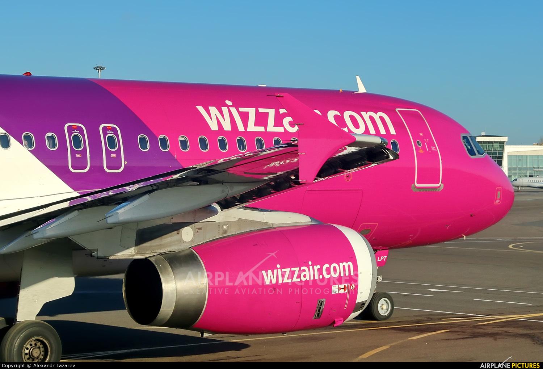 Wizz Air HA-LPT aircraft at Kiev - Zhulyany