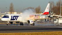 SP-LNB - LOT - Polish Airlines Embraer ERJ-190 (190-100) aircraft