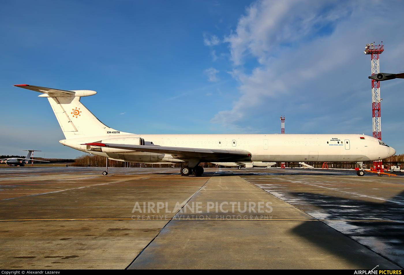 Rada Airlines EW-450TR aircraft at Minsk Intl