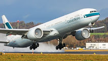B-KPX - Cathay Pacific Boeing 777-300ER aircraft