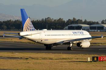 N484UA - United Airlines Airbus A320