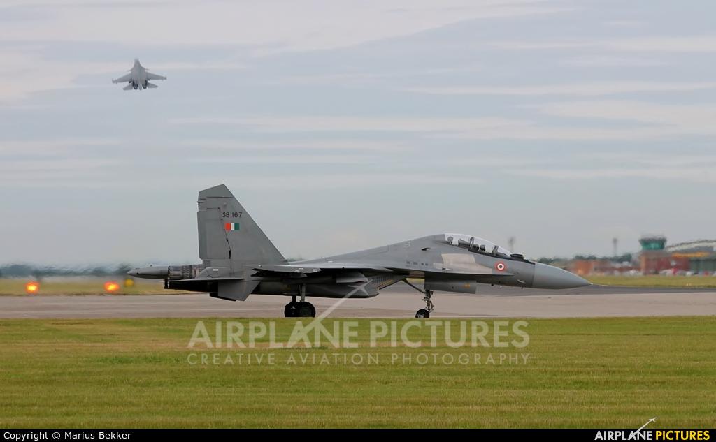 India - Air Force SB167 aircraft at Coningsby