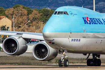 HL7610 - Korean Air Cargo Boeing 747-8F