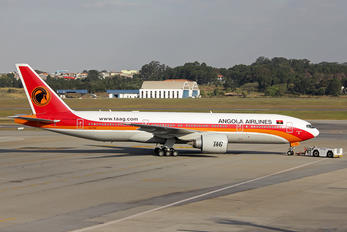 D2-TEE - TAAG - Angola Airlines Boeing 777-200ER
