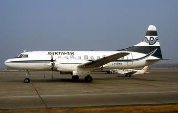 LN-BWN - Partnair Convair CV-580