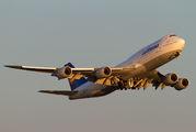 D-ABYQ - Lufthansa Boeing 747-8 aircraft