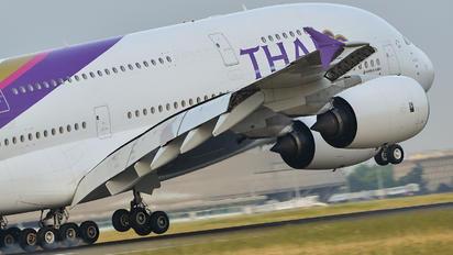HS-TUF - Thai Airways Airbus A380