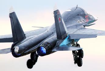 22 - Russia - Air Force Sukhoi Su-34