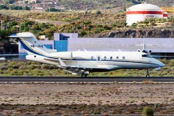 HB-JGQ - Execujet Europa AS Bombardier BD-100 Challenger 300 series