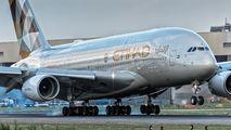 A6-APC - Etihad Airways Airbus A380 aircraft