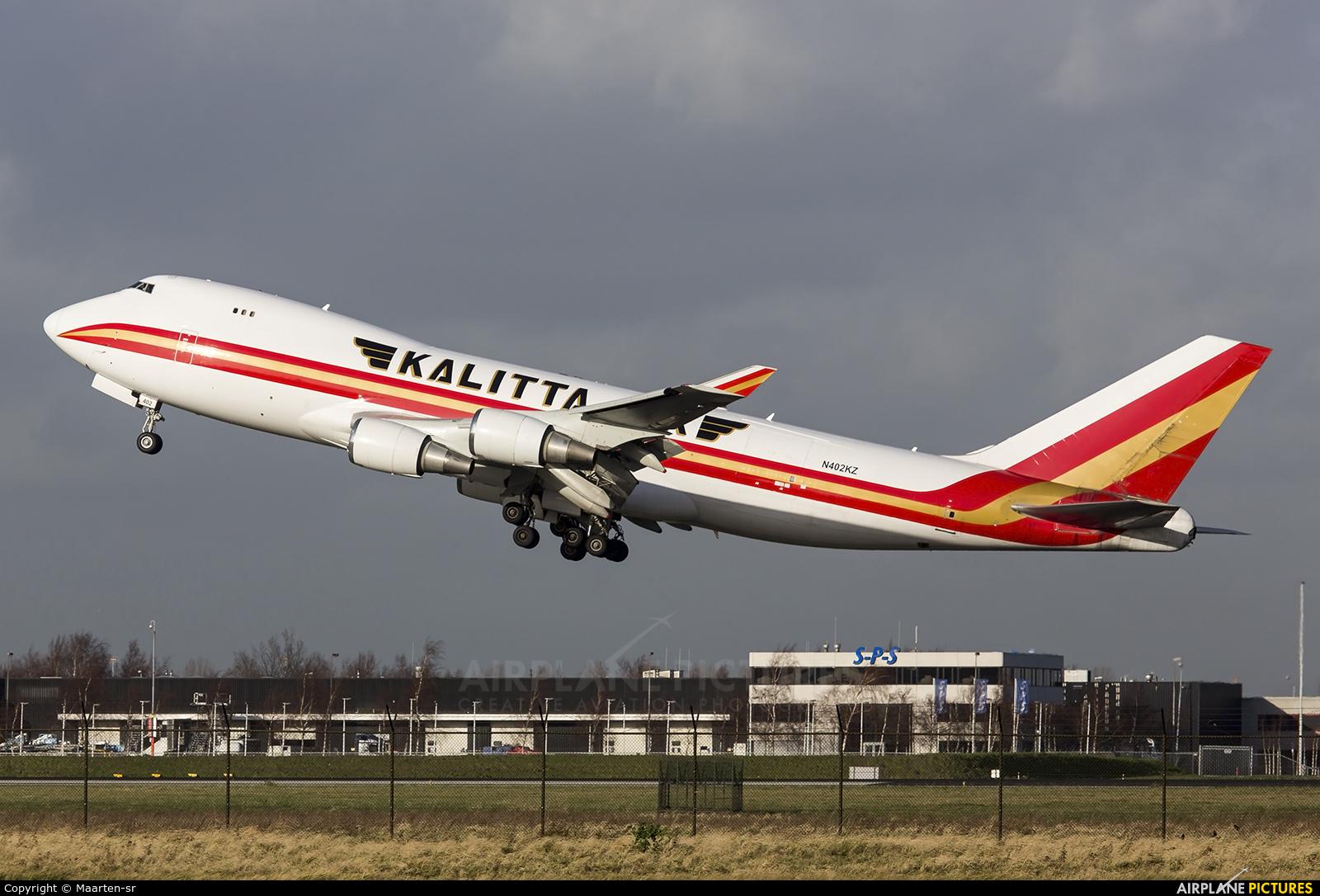 Kalitta Air N402KZ aircraft at Amsterdam - Schiphol