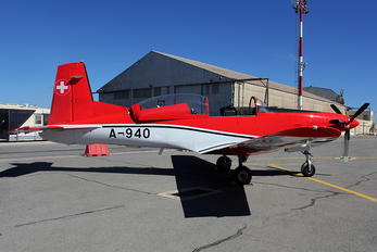A-940 - Switzerland - Air Force: PC-7 Team Pilatus PC-7 I & II