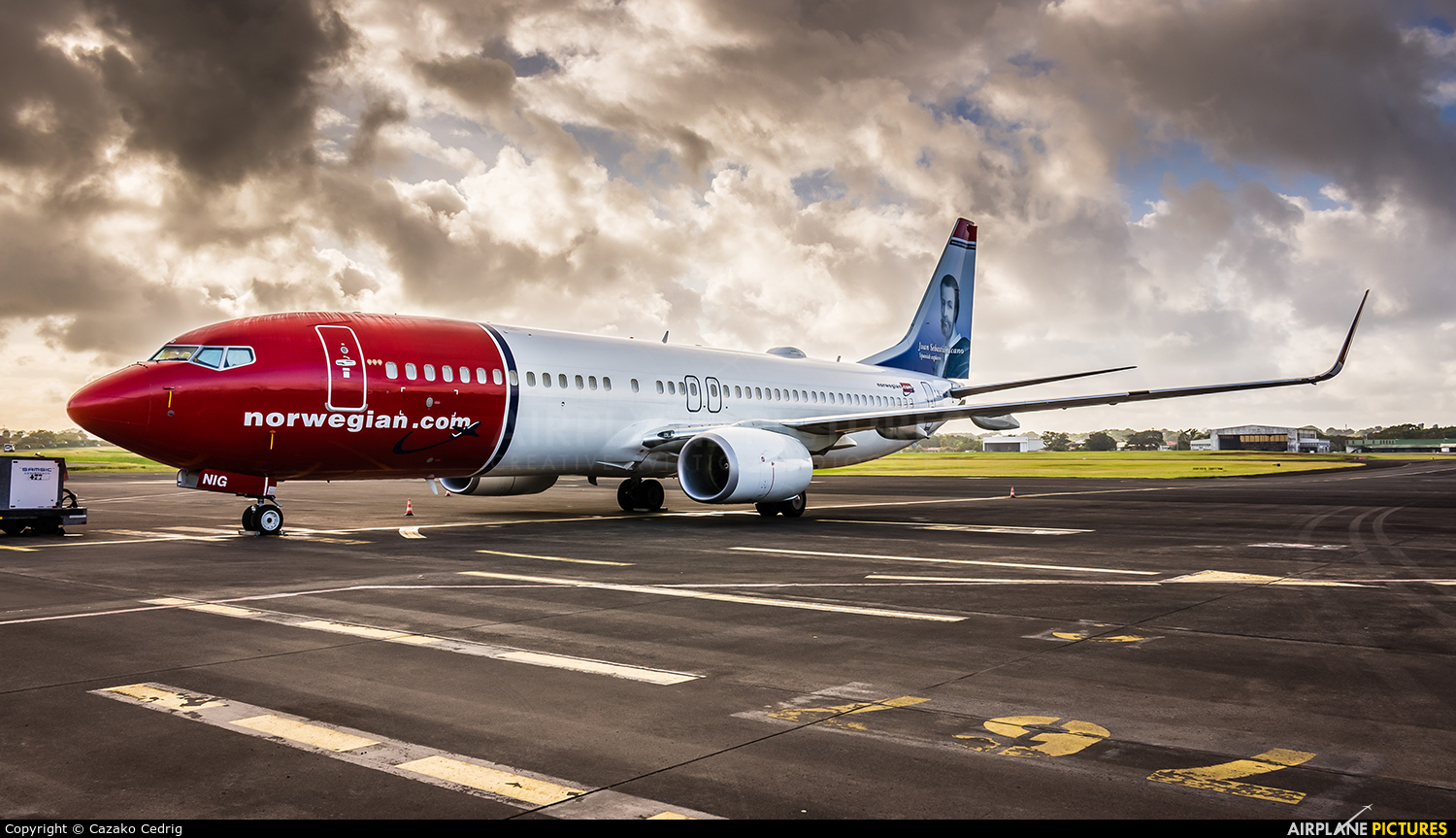 Norwegian Air Shuttle LN-NIG aircraft at Guadeloupe - Pointe-à-Pitre