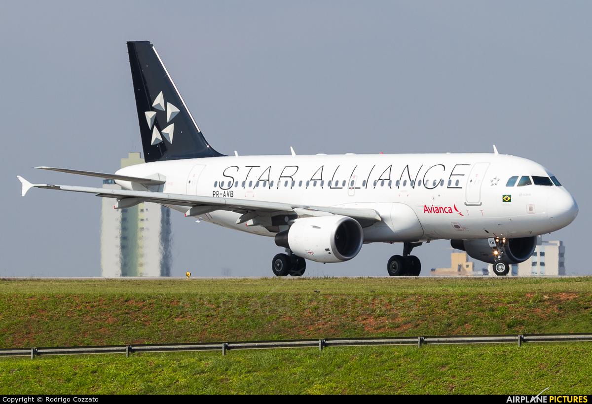 Avianca Brasil PR-AVB aircraft at São Paulo - Congonhas