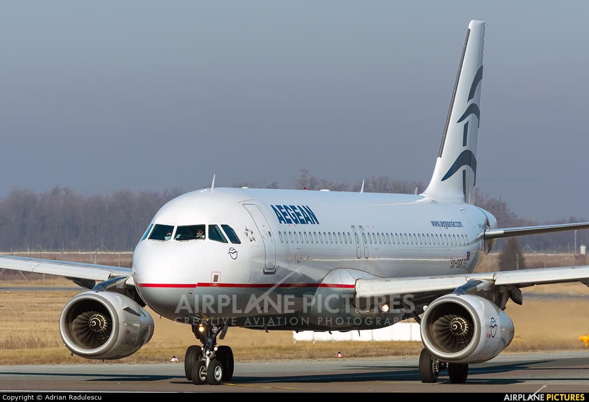 Aegean Airlines SX-DGK aircraft at Bucharest - Henri Coandă