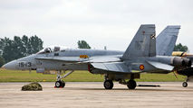 C15-26 - Spain - Air Force McDonnell Douglas F/A-18A Hornet aircraft
