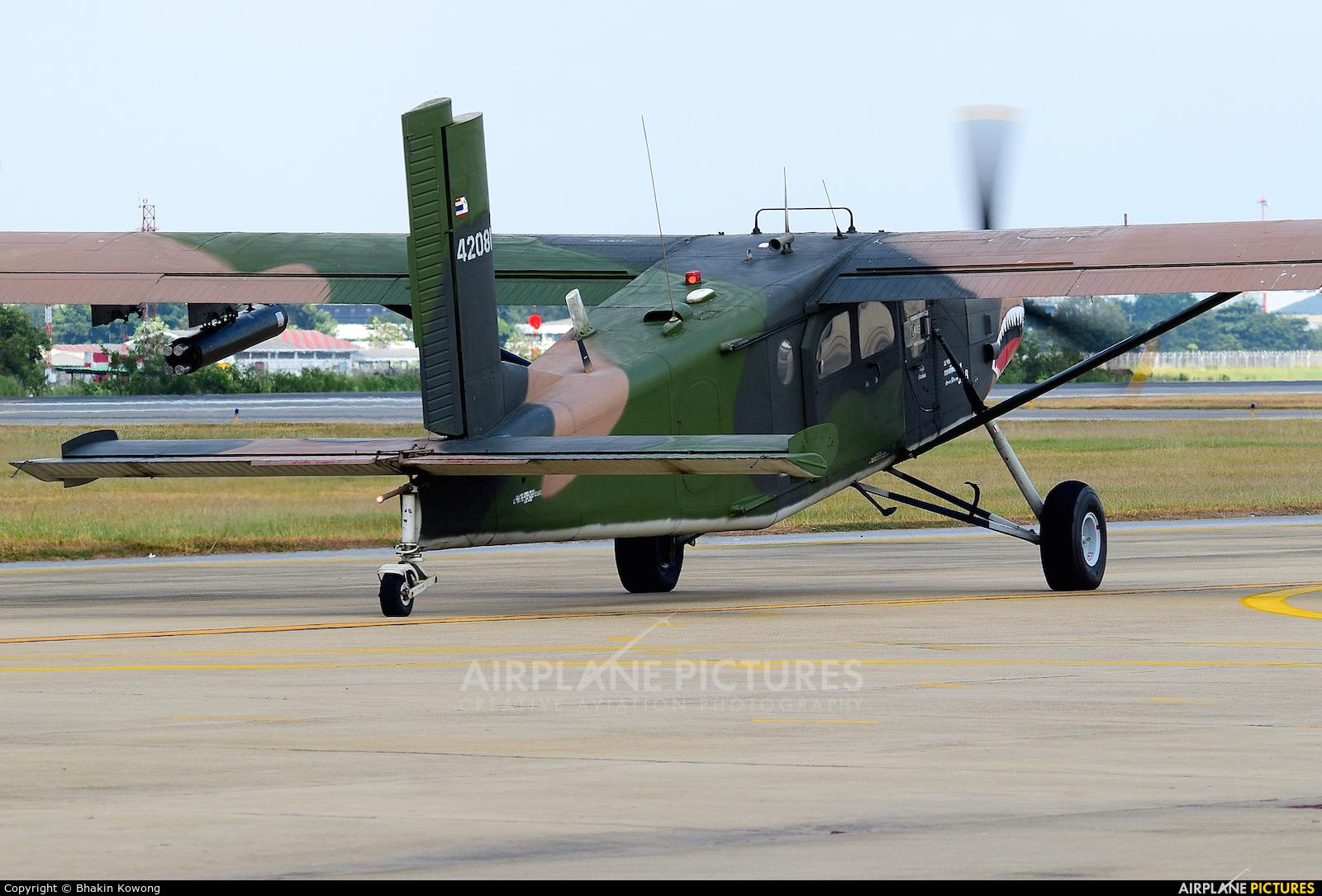 Thailand - Air Force 42081 aircraft at Bangkok - Don Muang