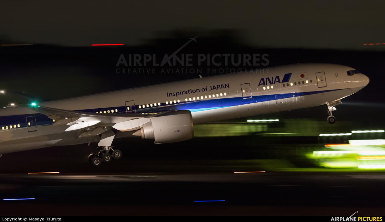 ANA - All Nippon Airways JA781A aircraft at Tokyo - Narita Intl