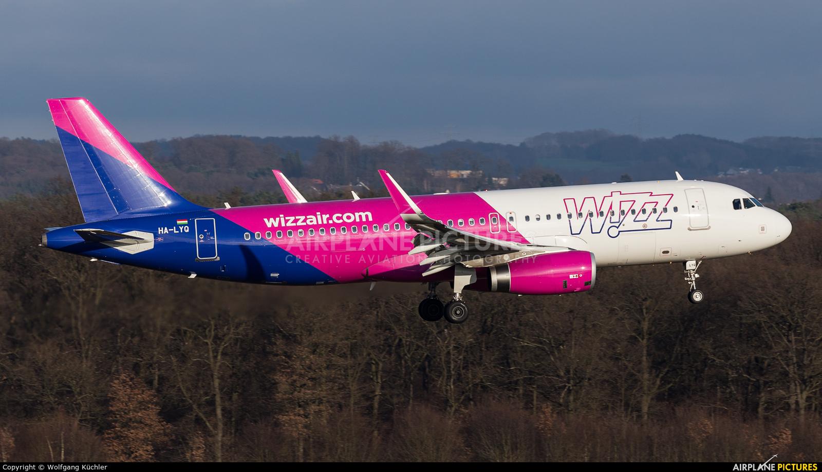 Wizz Air HA-LYQ aircraft at Cologne Bonn - Konrad Adenauer