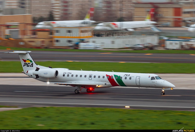 PGA Portugalia CS-TPH aircraft at Lisbon