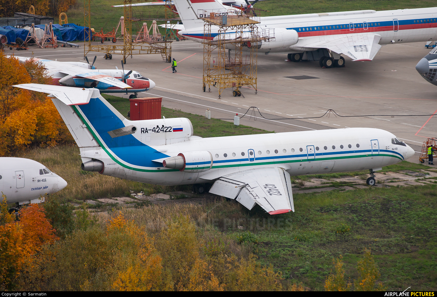 Volga Avia Express RA-42422 aircraft at Kazan