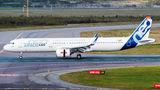 Airbus Industrie A321 NEO in Helsinki