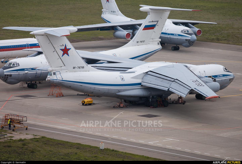 Russia - Air Force RF-78768 aircraft at Kazan