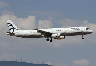 SX-DVO - Aegean Airlines Airbus A321